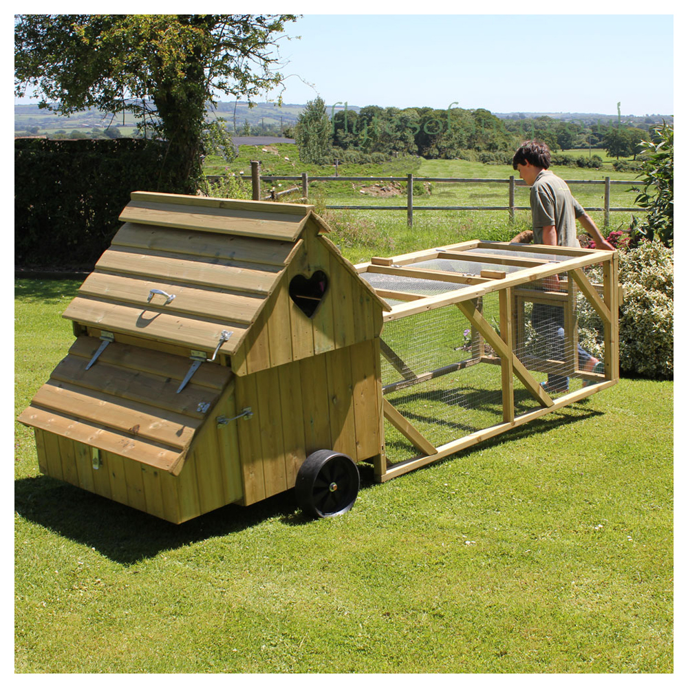 Moving the Ranger Chicken Coop