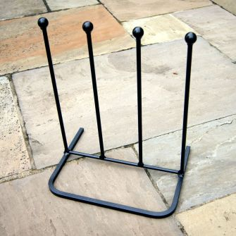 Two Pair Welly Boot Stand