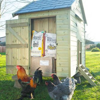 Feed Store for Granary 25 Hen House