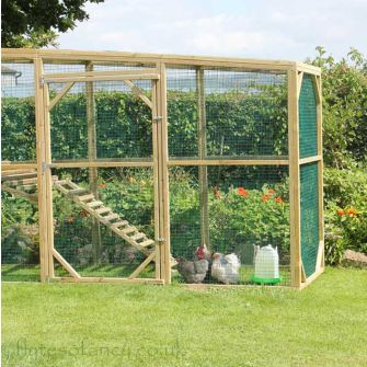 3ft Extension for the Flyte Aviary 8 Coop