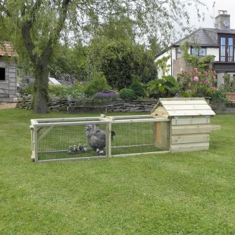 Broody Chicken Coop with 2m Run