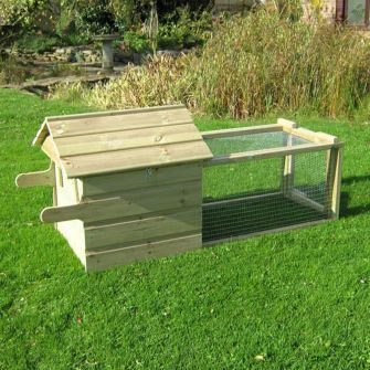 Broody Chicken Coop with 1m Run