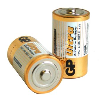 D Cell Batteries (pack of 2)