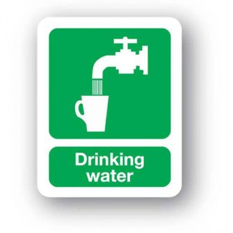 Small Drinking Water Sign