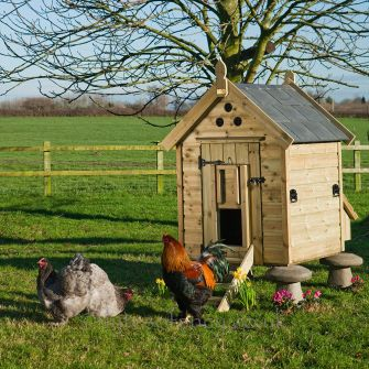 Granary 8 Henhouse with Tiled Roof