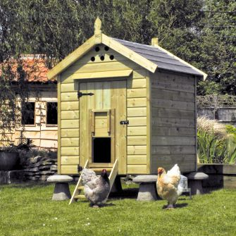 Granary 15 Hen House with Tiled Roof