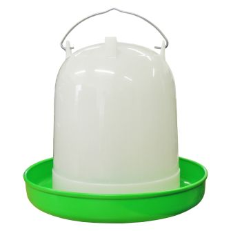 8 lit Plastic Super Fountain Drinker with legs