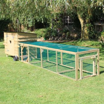 12ft Run for Handy 10 or 15 Hen House
