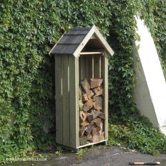 High Hinton Log Store (2ft wide)