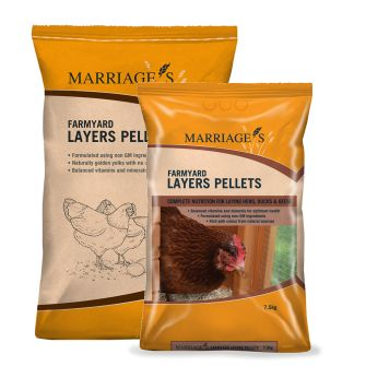 Marriages Farmyard Poultry Layers Pellets