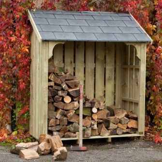 Okeford Log Store (5ft wide)