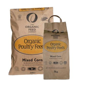 Organic Mixed Corn for Poultry