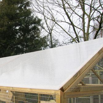 Polycarbonate Roof for Protection Pens