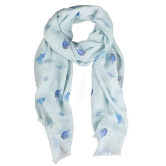Practically Perfect Peacock Scarf