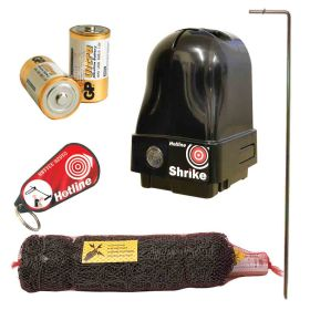 50m Rabbit and Badger Electric Netting Kit (Battery)
