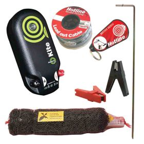 50m Rabbit and Badger Electric Netting Kit (Mains)