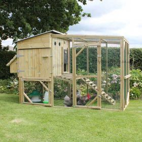 The Flyte Aviary 6 Chicken Coop