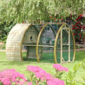 Framebow Arched Bird Aviary
