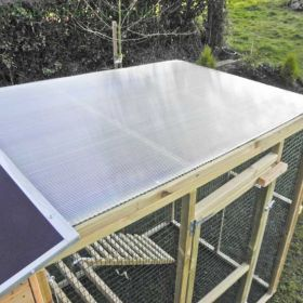 Polycarbonate Roof for Flyte Aviary 8 Run
