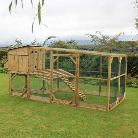 The Flyte Aviary Grand Chicken Coop