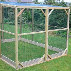 3ft Extension for the Flyte Aviary Grand Coop