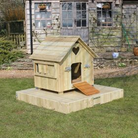 Small Float for Duck Houses