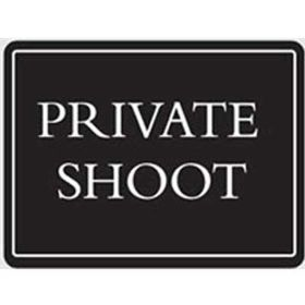 PRIVATE SHOOT - Deluxe Sign