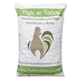 Hardwood Woodchip for Poultry Runs - 20 Bags