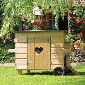 Handy 10 Hen House with wheels