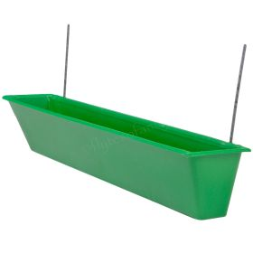 Hook on Plastic Feeder Trough for Cages
