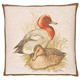 Hines of Oxford Ducks Tapestry Cushion