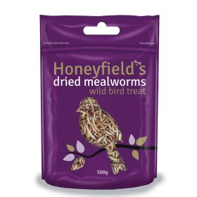 Honeyfields Dried Mealworms for Birds