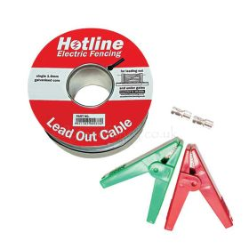 HT Lead-Out Cable with 4 Crocodile Clips