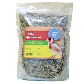 Natures Grub Dried Mealworms for Birds