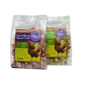 Natures Grub Popcorn Treat For Chickens, 20g