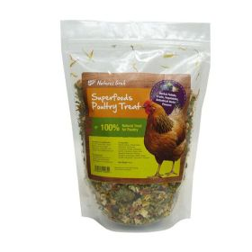 Natures Grub Superfood Poultry Treat with Probiotics, 600g