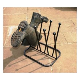 Four Pair Crossover Welly Boot Stand