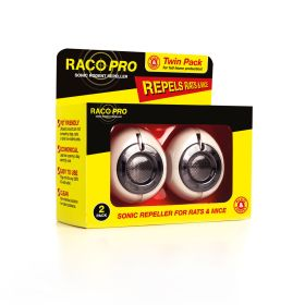 RACO Sonic Rodent Repeller - Twin Pack