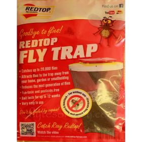 Red Top Fly Trap Catcher