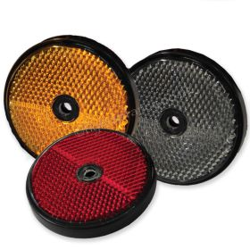 Round Reflectors for vehicles, 60mm