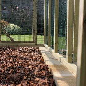 Sleeper & Woodchip Packs for Poultry Protection Pens