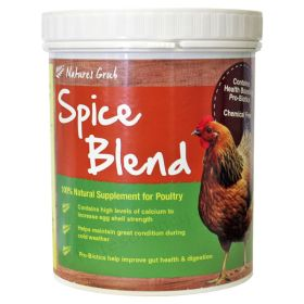 Natures Grub Spice Blend for Poultry (with Probiotics) 500g