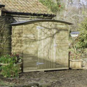 The Stronghold Garden Store (6ft wide)
