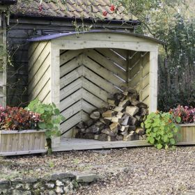 The Stronghold Log Store (6ft wide)