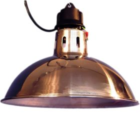 Traditional Wide Brim Infra Red Brooding Lamp