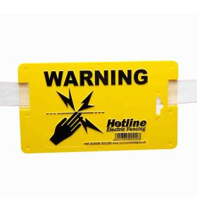 Warning Sign for Tape or Wire