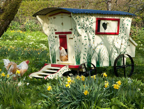 The Gypsy Hen Houses