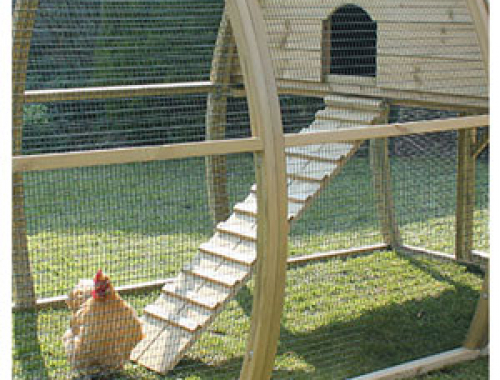 Curved Chicken Coops