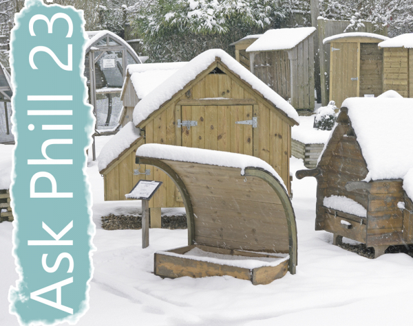 Ask Phill 23 - Should I paint my chicken house?