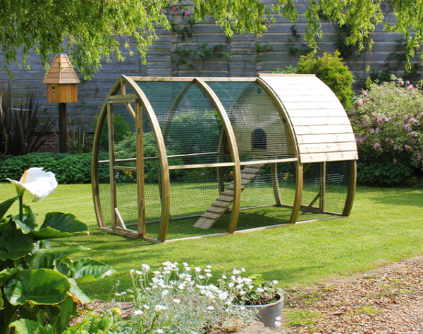 Chicken Coops for the Garden